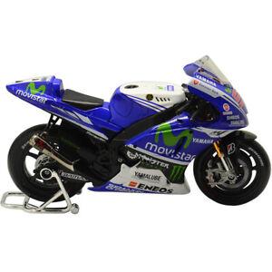 Maisto MotoGP Motorbike Model Jorge Lorenzo Yamaha 2014 1:10 Toy