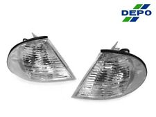 DEPO Euro Clear Corner Signal Light For 99-01 BMW E46 3-Series 4D Sedan 5D Wagon
