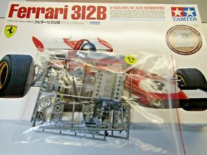 Tamiya 1:12 Big Scale Ferrari 312B Sprue 'E' Grey Parts only as Pictured