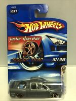 2006 Hot Wheels #31 First Editions Silver Gray Nissan Titan FTE Faster Than Ever