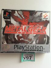 Sony Playstation 1 Ps1 Metal Gear Solid