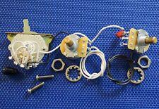 Fender Deluxe Thinline Telecaster POTS 1MEG + 4 Way SWITCH Tele Guitar Parts