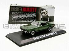 GreenLight Collectibles Hollywood Bullitt Ford Mustang GT 1968 Echelle 1:43 Voiture Miniature - Verte (86431)