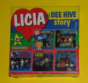 CRISTINA D'AVENA. LICIA E I BEE HIVE STORY. COFANETTO BOX 5 CD ANCORA SIGILLATO