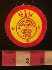 Vintage & Thin UNITED WORLD CB'S COVERS ENTIRE GLOBE Amateur Radio Patch 81D2
