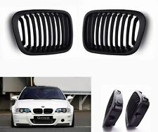 new Front Matte durable Grill Grille For BMW E46 3Series Sedan 4Door 1998 2001