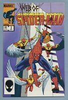 Web of Spider-Man #2 1985 Louise Simonson Greg LaRocque Marvel Comics