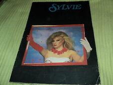 "RARE!! PROGRAMME ""SYLVIE VARTAN - 1983 / 1984"" 32 pages"