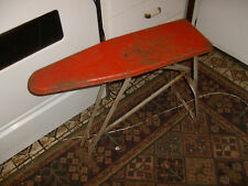 Vintage Antique Old Metal Childs Folding Ironing Board, Good Shape for its Age