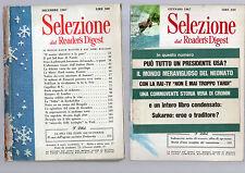 selezione dal reader digest - annata completa 1967 millenovecentosessantasette -