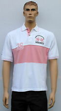 Marion Roth - Polo - 26 - Homme - Blanc/Rose - M