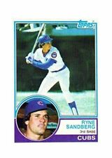 1983 Topps Ryne Sandberg Chicago Cubs #83 Baseball Card