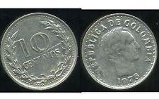 COLOMBIE 10 centavos   1975  ( bis )