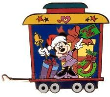 Disney Auctions A Very Merry Xmas Train Minnie Mouse Le 100 Pin