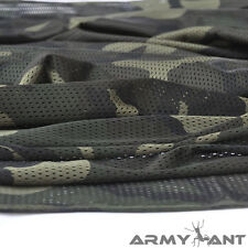 "2-YARDS Woodland Camo Camouflage Net Cover Army Military 60""W Mesh Fabric Cloth"
