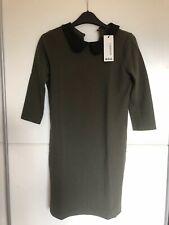 Boohoo Khaki Green Dress Size 12