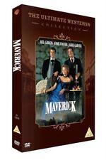 Mel Gibson Jodie Foster Maverick 1994 Comedy Western UK DVD