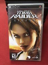 Lara Croft: Tomb Raider Legend (Sony Psp, 2006) Cib Complete w/Manual
