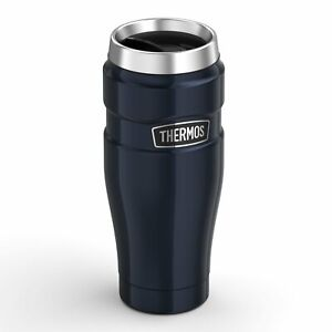 New THERMOS Stainless King S/Steel Vacuum Insulated Travel Mug Tumbler 470ml