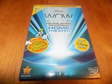 WALT DISNEY WOW HOME THEATER CALIBRATION Calibrate 2-Disc Bonus Set DVD SEALED
