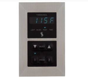 ThermaSol SEMR-SC Programmable Steam Shower Controller with Light, Music