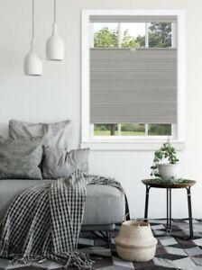 ACHIM Top Down Bottom Up Honeycomb Cordless Cellular Shade - Dove Gray
