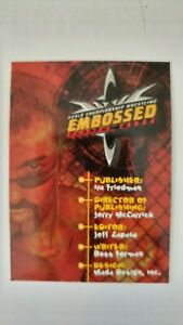 1999 TOPPS WCW NWO EMBOSSED WRESTLING CARDS (#1- 68) U PICK FROM LIST