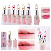 Original Magic Flower Lipstick Color Jelly Transparent  Lip Temperature Change