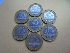 Collection of 7 - 10 Franc Bi-Metallic Coins from France. (3 Lots)