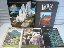 Lot 5 beaux livres: Voyage, Art, Loisirs…World Cheap Shipping* LV5