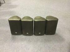 EV ZX1-90 Passive Speakers - 4 in total - Includes speaker mounts
