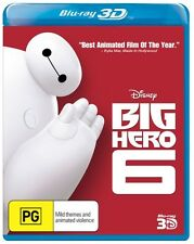 Big Hero 6 (3D Blu-ray) * blu-ray * NEW
