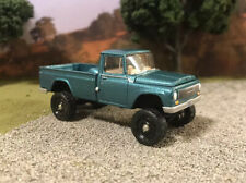 1965 IH Scout 1200 4x4 Lifted Custom 1/64 Diecast Truck Off Road International