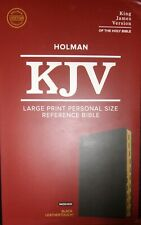 Holy Bible King James Version, Large Print, Personal Size Bible Thumb Indexed
