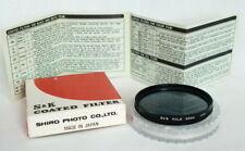 💥 S&K Filtro POLARIZADOR 55mm 💥 Coated Filter - Made in Japan Polarizer Filter