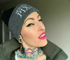 Nothing But Pixies Beanie Grey and Black