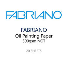 Fabriano Pintura Al Óleo De Papel-Pack De 20 390 Gsm Hojas - 35 X 25 Cm