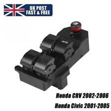 Right Drive Power Window Sensitive Control Switch for Honda CRV0206 for Honda UK