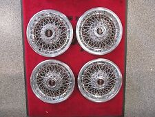 1978-1981 Olds Cutlass Supreme 442 NOS GM 14 Inch Wire Wheel Cover Set Hubcap