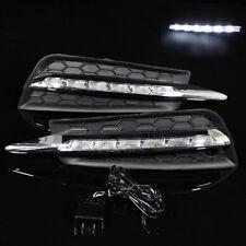 For 2010-2014 Cruze DRL Light Slim LED Bumper Fog Lamp Bezel Insert Grill Covers