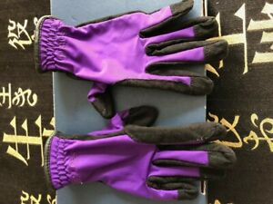 Red Horse Childs Riding Gloves size XS/28
