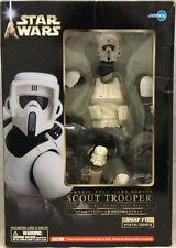 Star Wars Scout Trooper 1/7 Scale Soft Vinyl Model Kit ArtFX 2005 NIB Kotobukiya