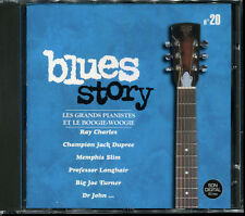 BLUES STORY - N°20 LES GRANDS PIANISTES ET LE BOOGIE WOOGIE - CD COMPIL NEUF