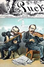 John KELLY TAMMANY Mayor GRACE 1882 BALANCE of POWER FIDDLE w BOW Music Harmony