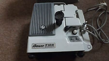 VINTAGE BAUER T10R AUTOMATIC Super 8 Film Projector WITH  PROTECTIVE CASE
