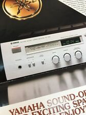 Yamaha R-700 Stereo Receiver Original Owners Manual 13 Pages & color r700