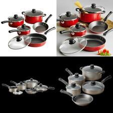 New listing 9 Piece Cookware Set Nonstick Pots & Pans Home Kitchen Cooking Non Stick New