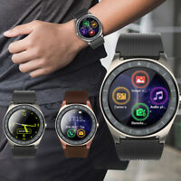 V5 Smart Watch Heart Rate Blood Pressure Monitor Remote Camera Supports SIM Card