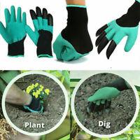 Garden TV Gartenhandschuhe mit Krallen Genie Gloves Arbeitshandschuhe Handschuhe