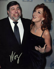 Steve Woz Wozniak SIGNED 8x10 PHOTO Co-Founder APPLE Kathy Griffin AUTOGRAPHED